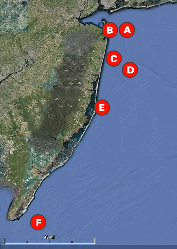 6 new jersey bottom fishing hotspots new sport fishing for Long beach fishing spots