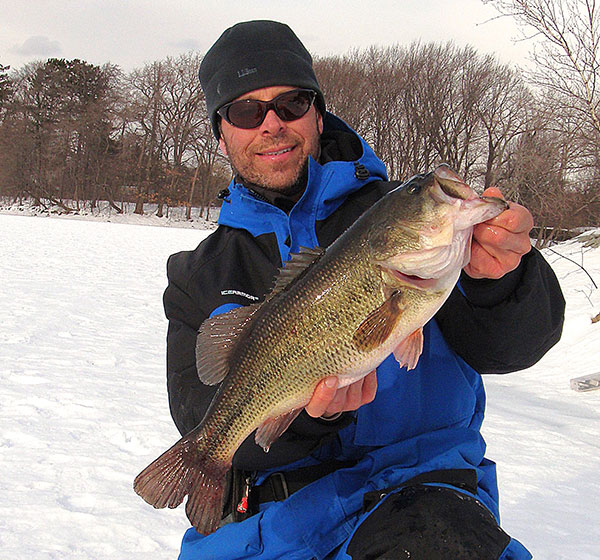 Odds are that this hawg taken by the author had grown fat from ambushing stocked trout.