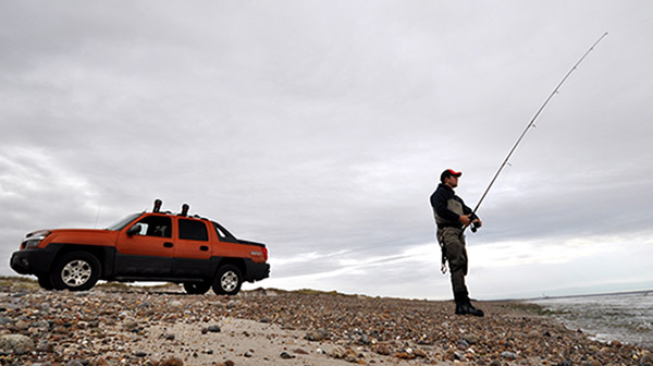 Oversand permits grant surfcasters access to beautiful undeveloped stretches of the coast.