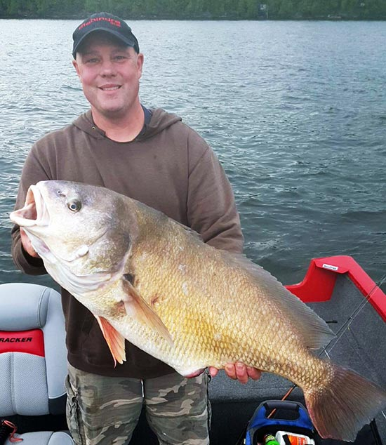 new Vermont state record freshwater drum