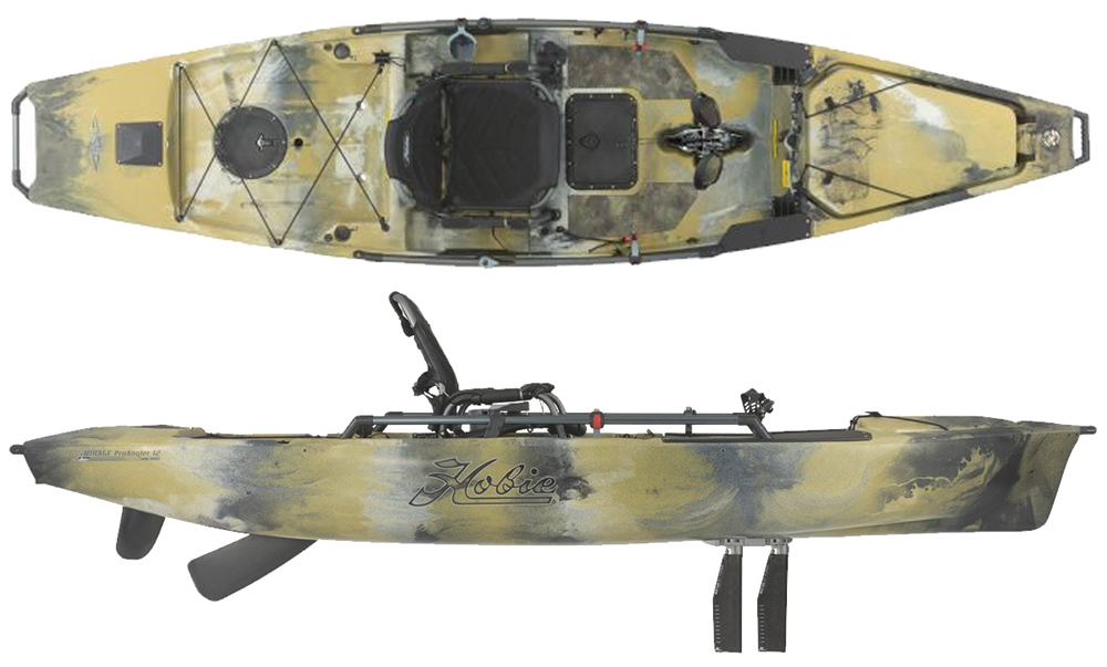 Hobie Mirage Pro Angler 12 And 14