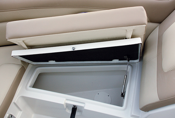 Bow Seat Fish Boxes