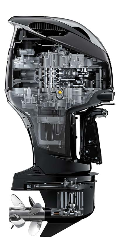 Efficiency, reliability and stability make the DF350A the Ultimate 4-Stroke Outboard.