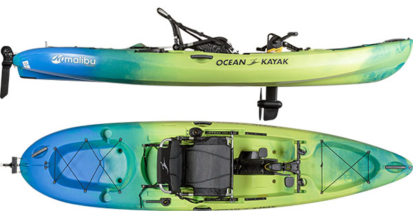 New Ocean Kayak Malibu Pedal hull