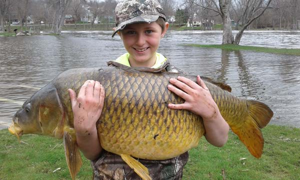 Chase Stokes set a new state record for carp