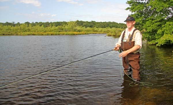 Plenty of open water, aggressive fish and relatively short casts make fall fishing for largemouths a blast with the long wand.