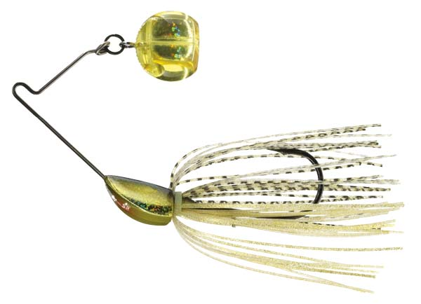 The ball causes the Yo-Zuri 3DB Knuckle Bait to shake and jive on the retrieve