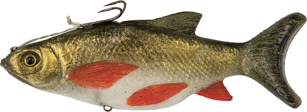Real Prey 7-inch Golden Pond Shiner