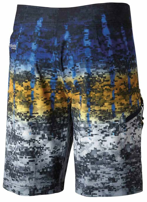 Columbia PFG Offshore Camo Fade Board Short