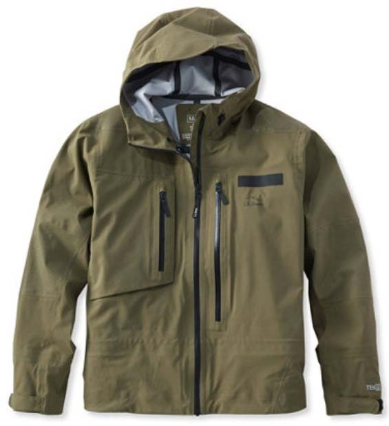 LL Bean Apex Tech Wading Jacket