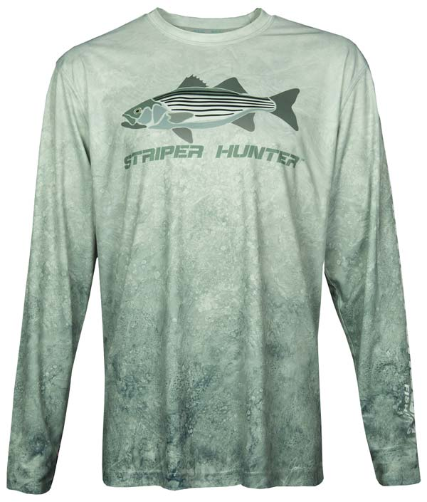 444 Sportswear Grey Seas Striper Hunter
