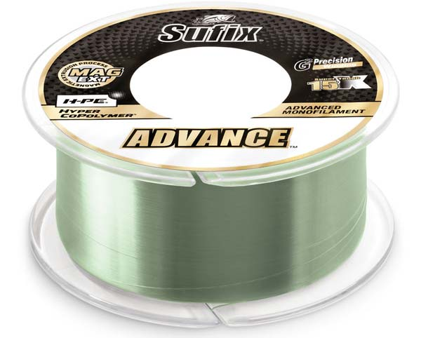 Sufix Advance in Low-Vis Green