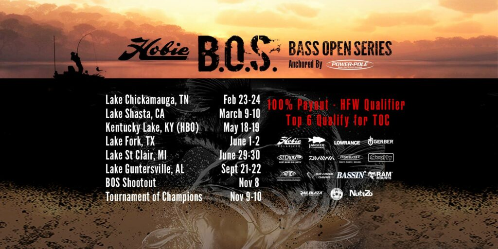 Hobie Bass Open Series Kristine Fischer Payne Outdoors