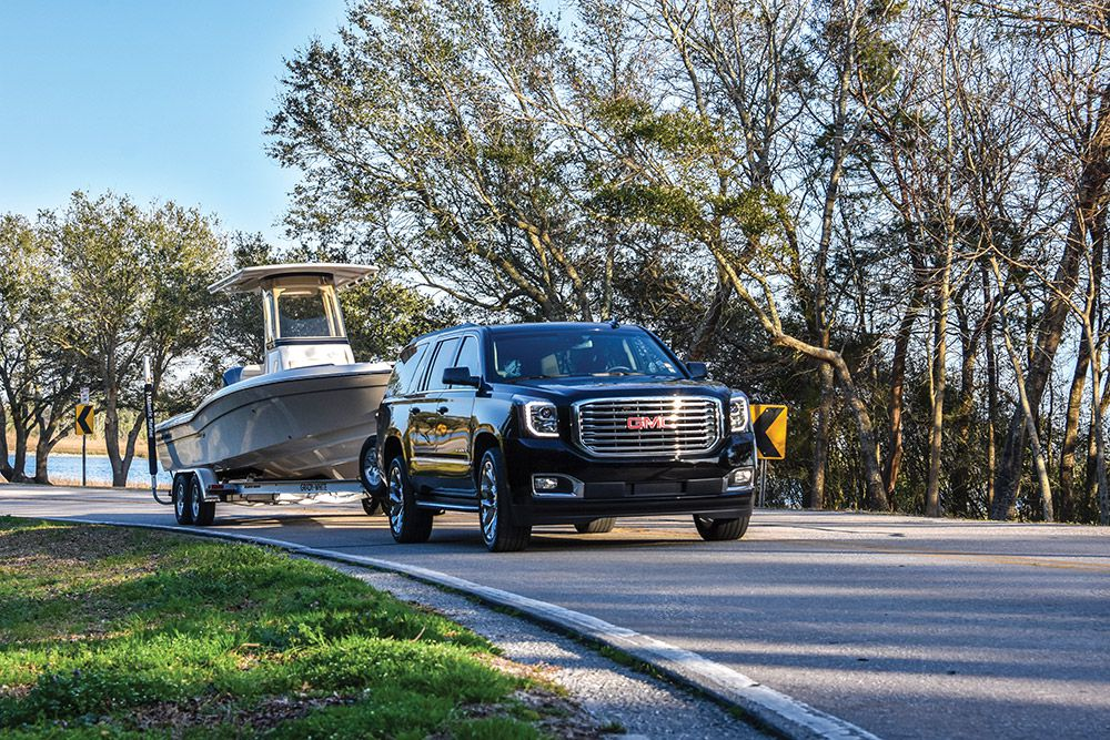 Even if the road is smooth and the trip is uneventful, inspect the trailer and boat during fuel stops.