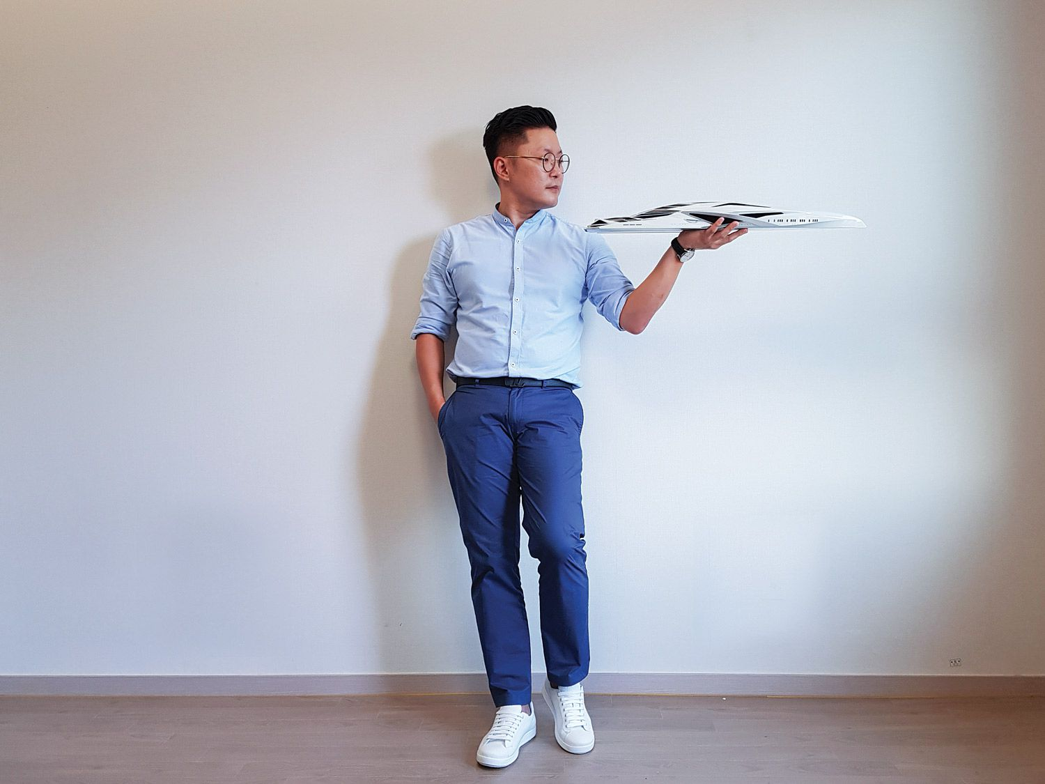 Chulhun Park is the chief designer at Latitude Yachts. Previously, he did exterior design for Palmer Johnson.