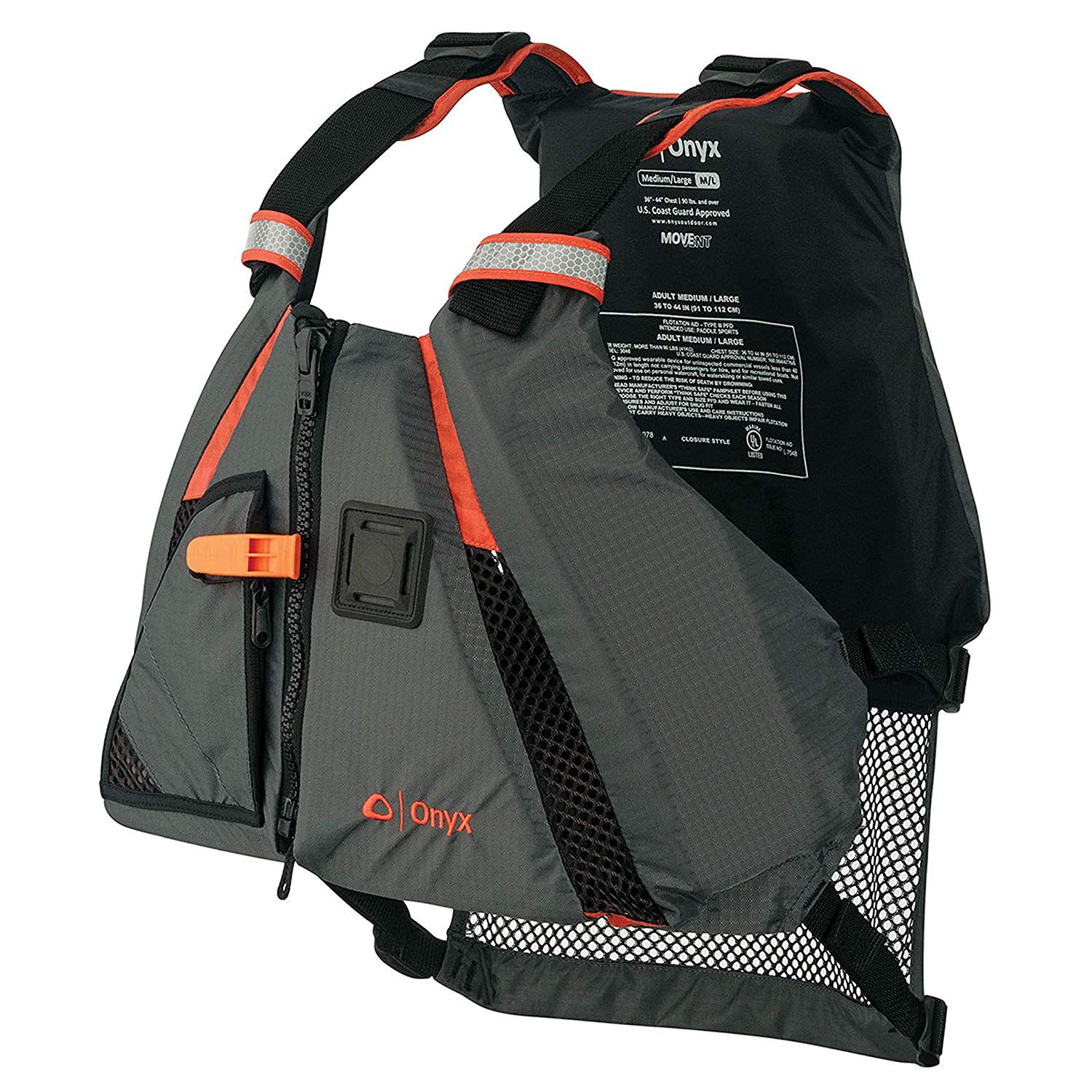 Kayakers might find this style of life jacket comfortable, with plenty of freedom and flexibility to paddle.