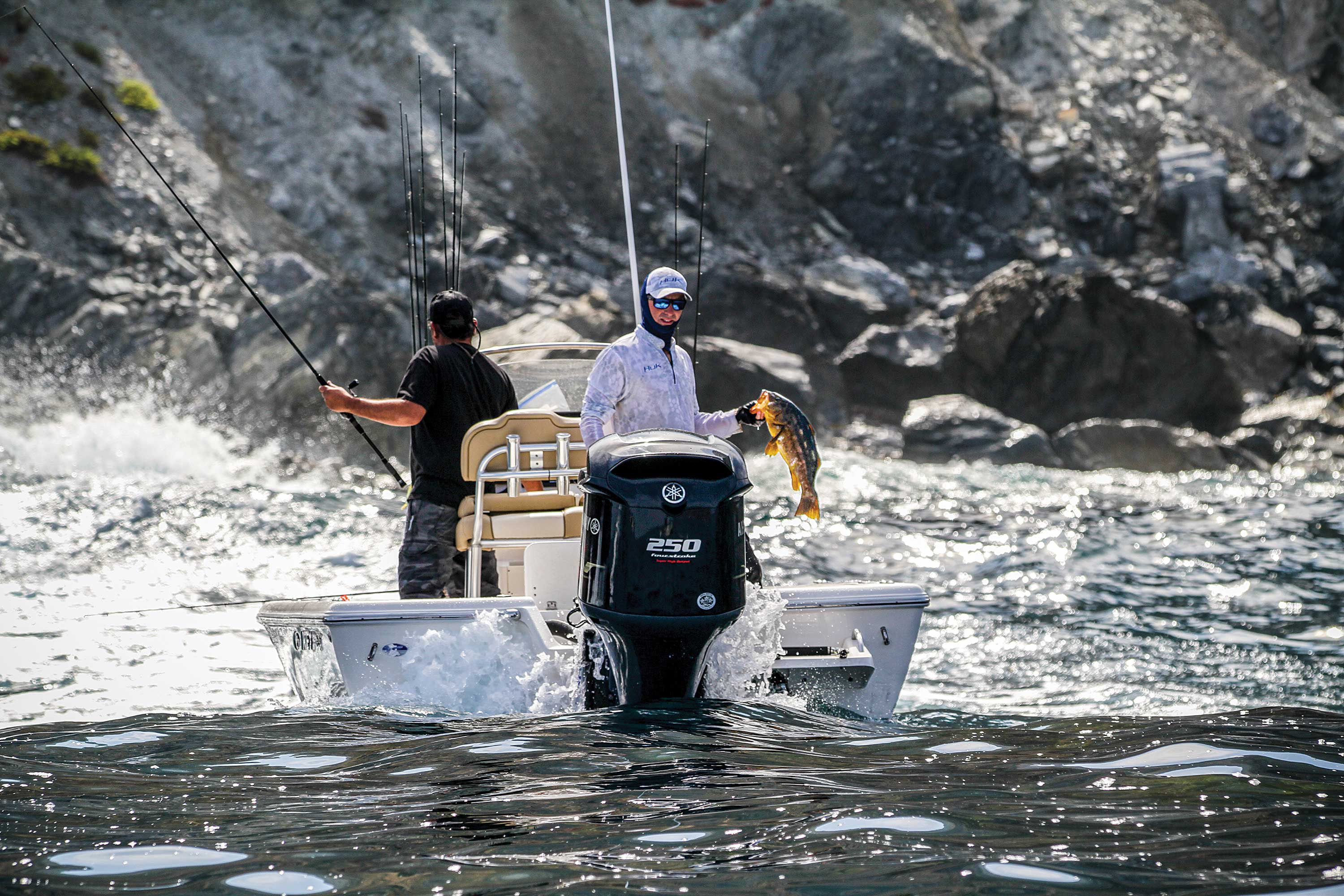 Bay boats let anglers quickly reach SoCal outer islands to fish for calico bass and other species.