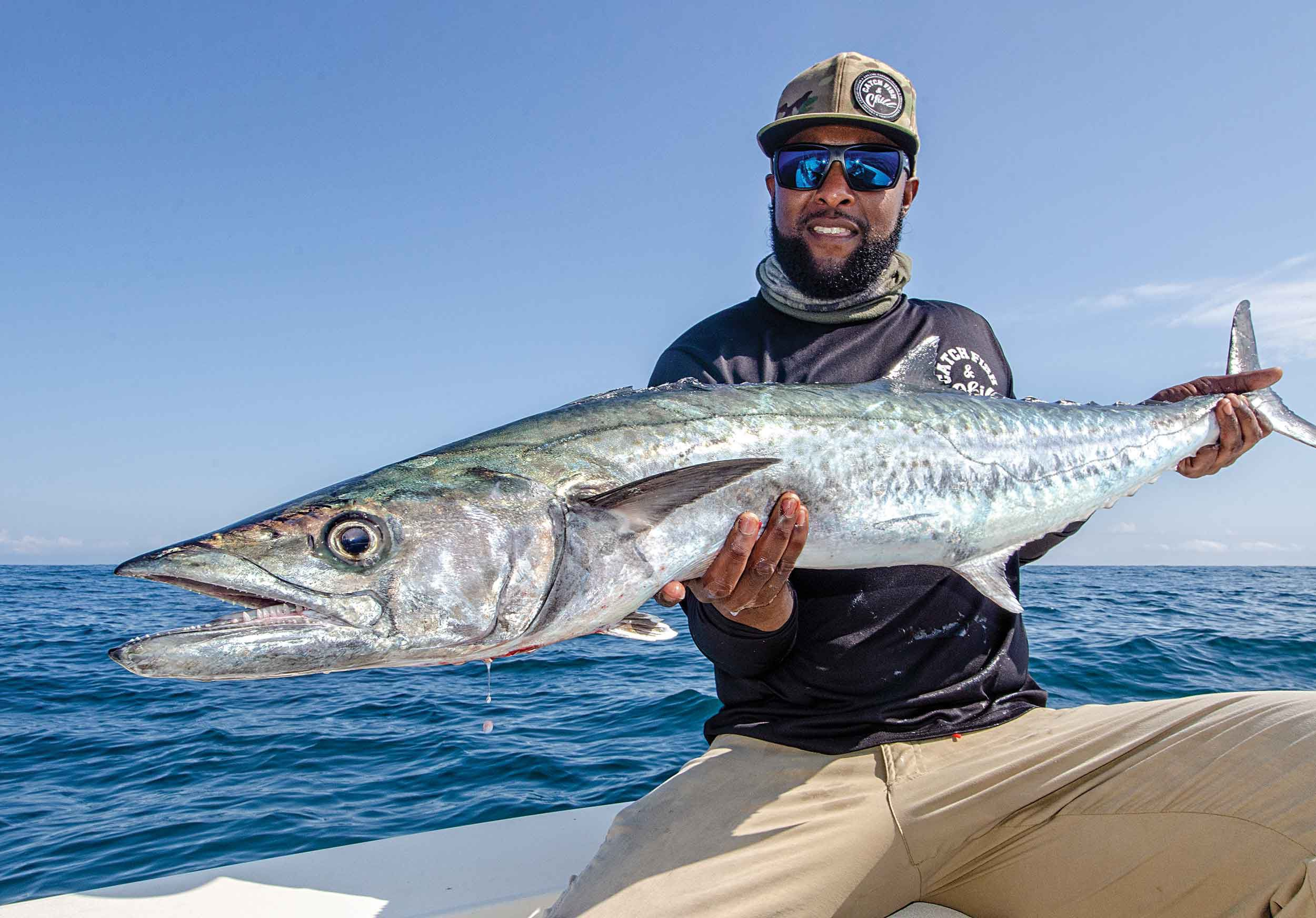Catching trophy kings like this one doesn't require long runs offshore in mid-Atlantic waters.