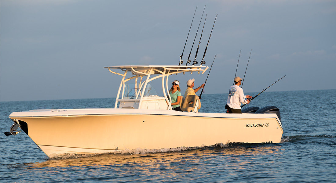The Sailfish 290 - Center Console