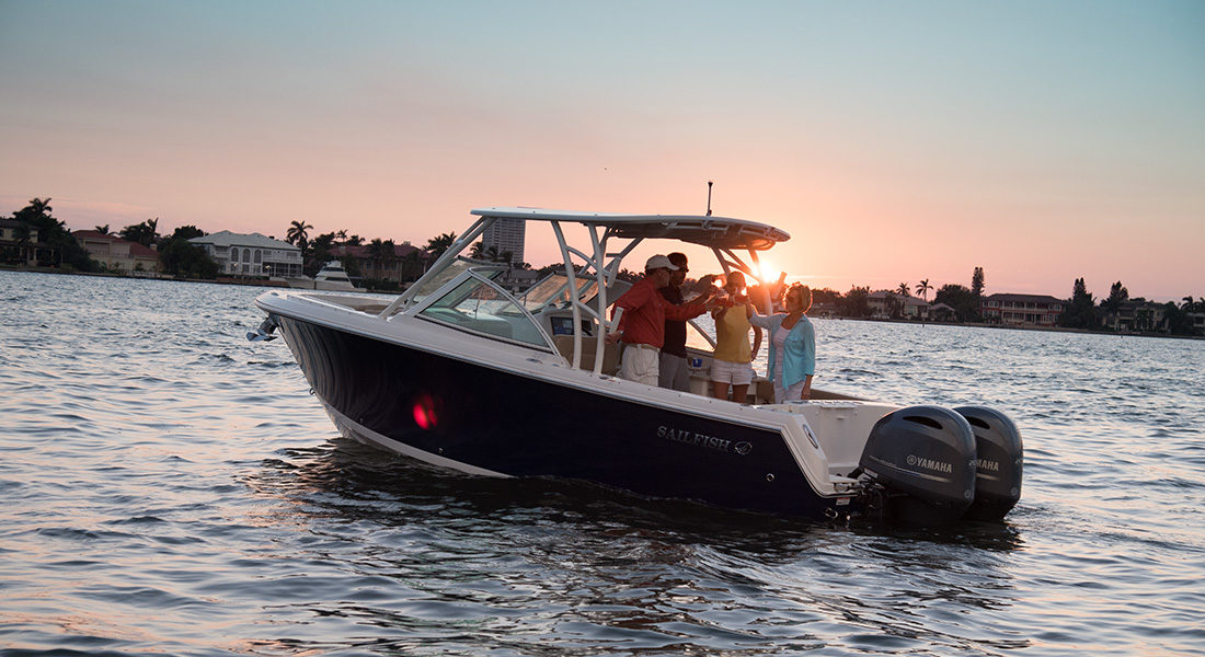 The Sailfish 275 - Dual Console