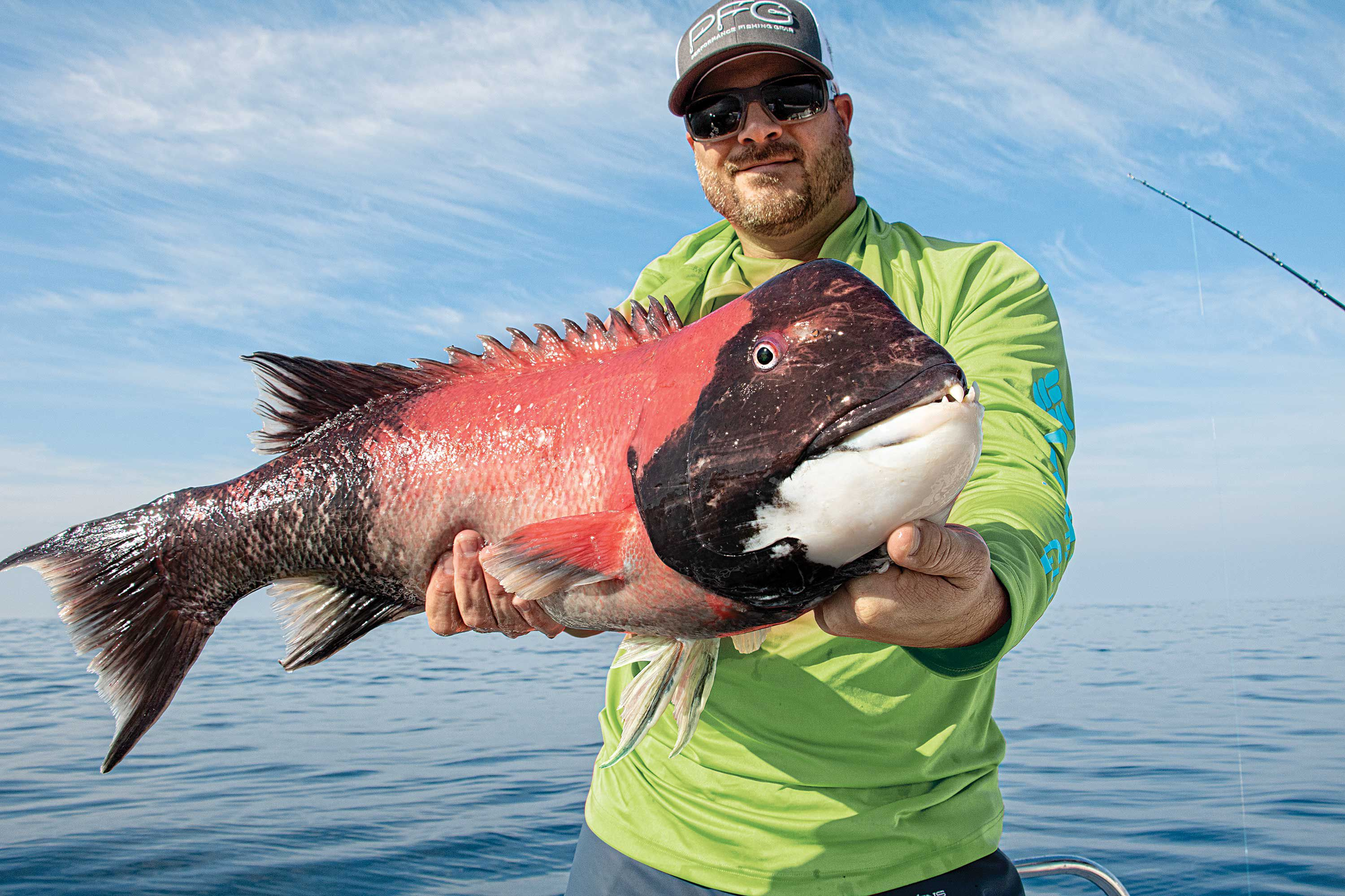 Precise, well-planned drifts give the angler an edge when hunting structure-loving species such as California sheephead.