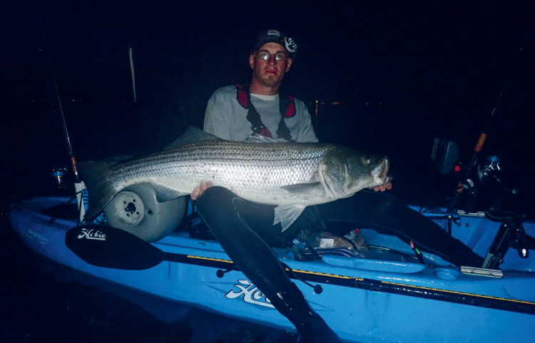 Dan Savage Kayak Striper