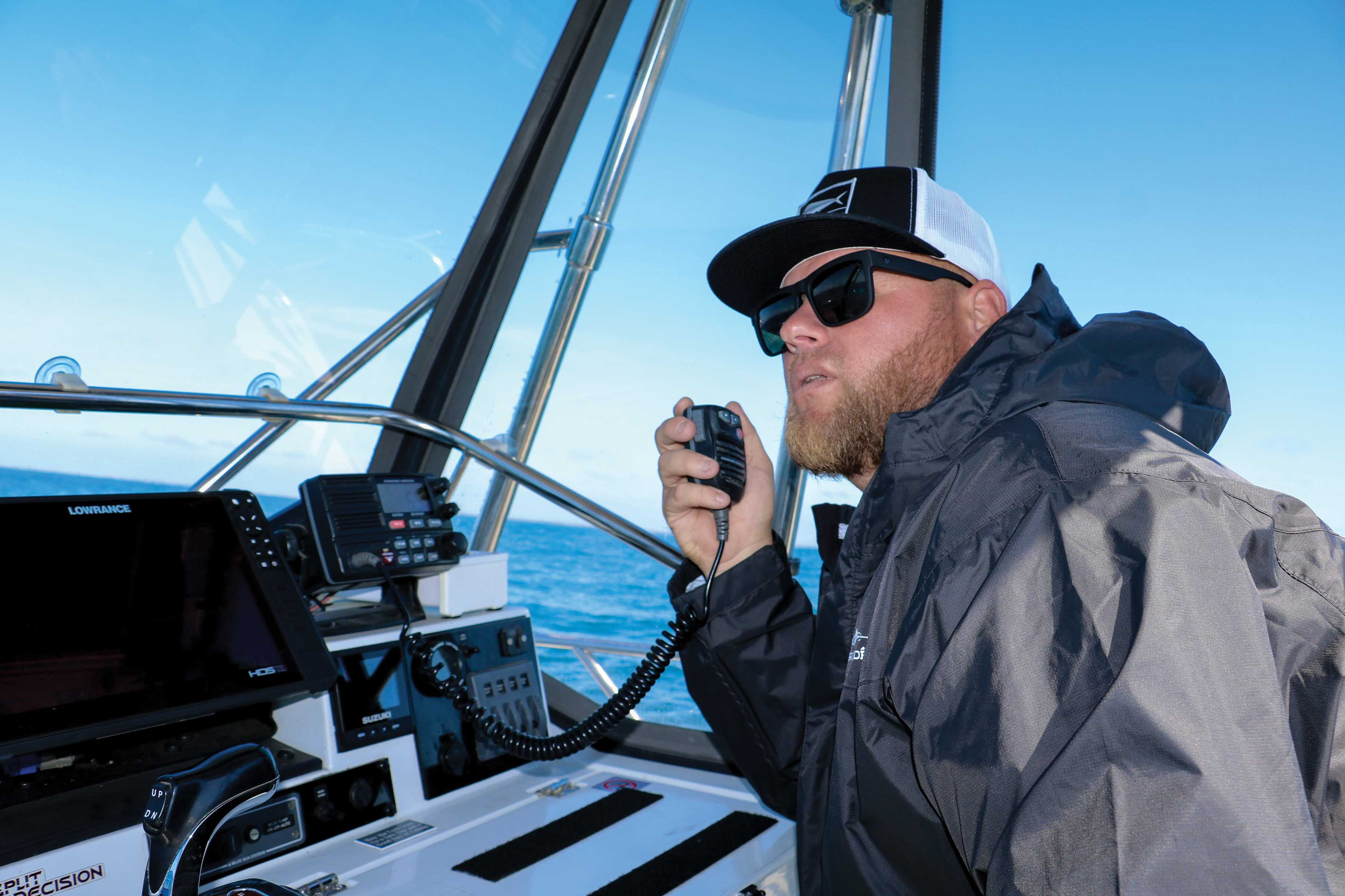 Anglers glean valuable information by scanning VHF channels and listening attentively for clues.