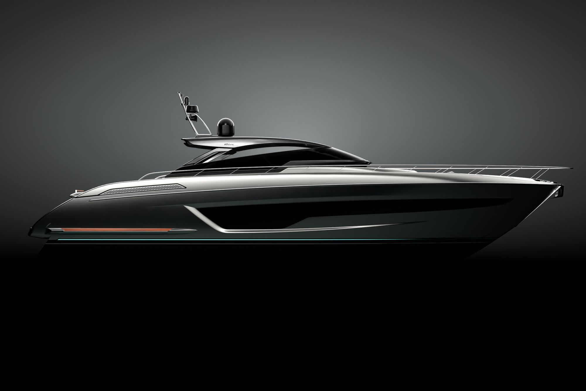 Launching this summer, the Riva 68 Diable is projected to have a 40-knot top-end speed.