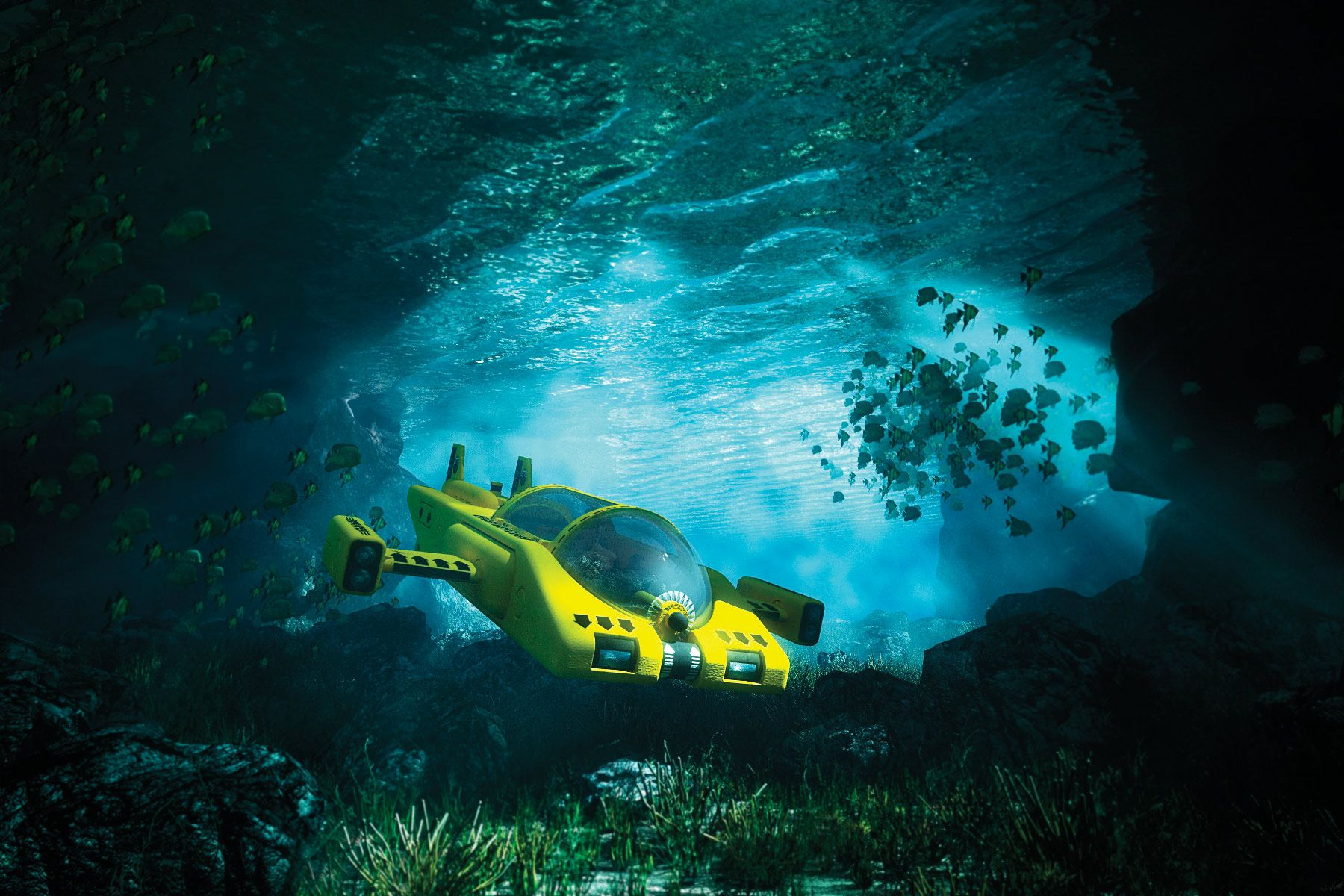 For clients who want to explore beneath the boat, Yomira's brokers can discuss charters that include submersibles.