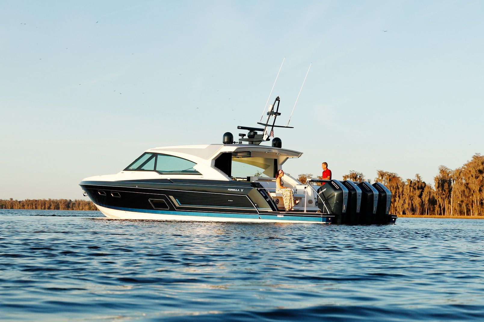 The Formula 500 Super Sport Crossover became the flagship model in the builder's line earlier this year.