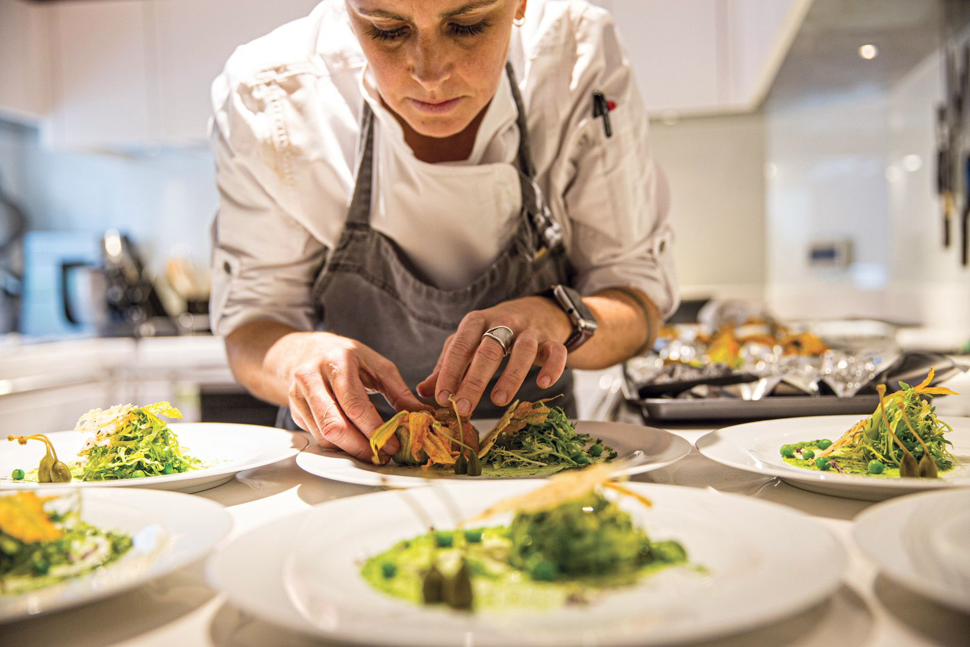 For clients seeking Michelin-level dining on board, Armstrong and Hornsby can discuss not only which superyachts have highly trained chefs in the galley, but also those chefs' various specialties.